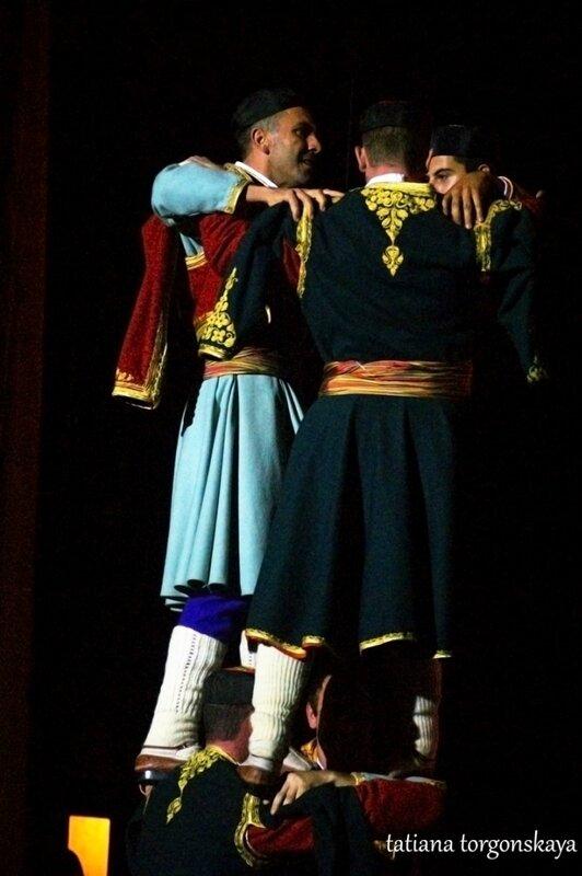 Выступление ансамбля
