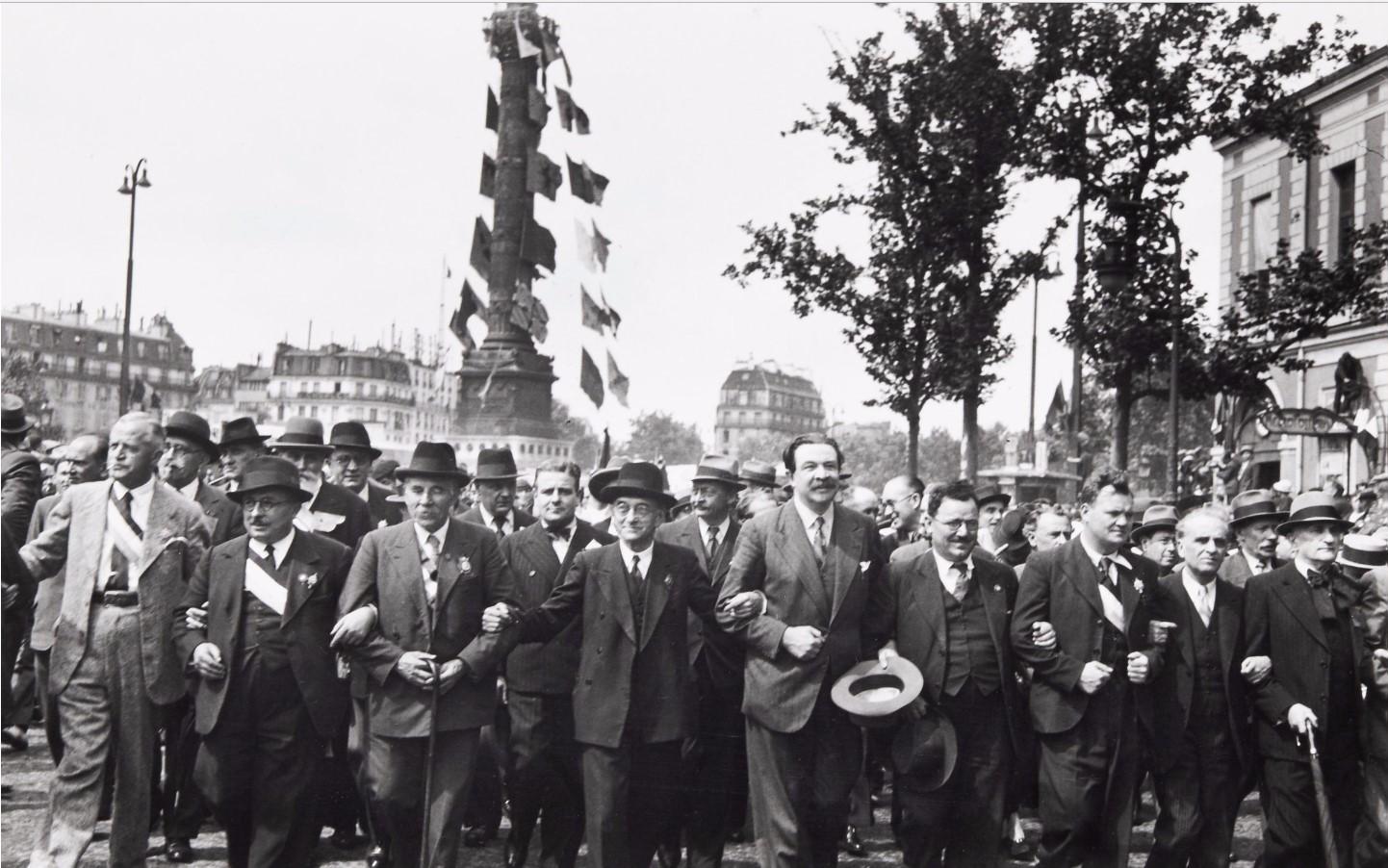 1934. Площадь Бастилии, 14 июля