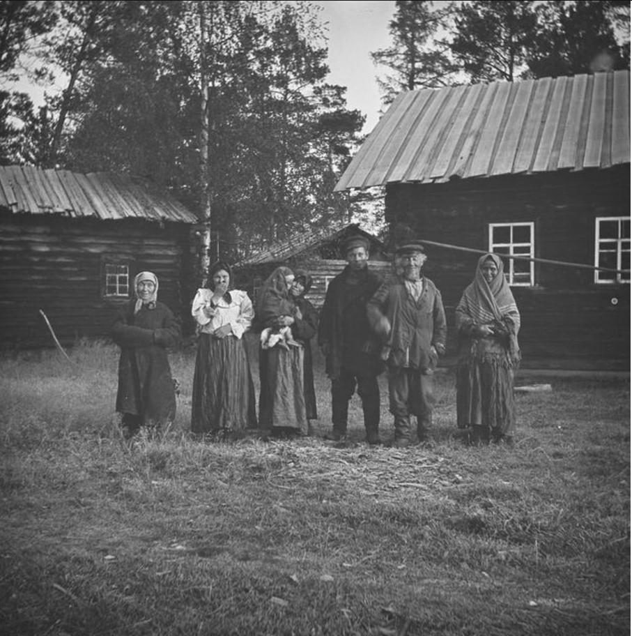 Ирина, жена Николая Куло, Пелагея, Христофор и его жена Анна.