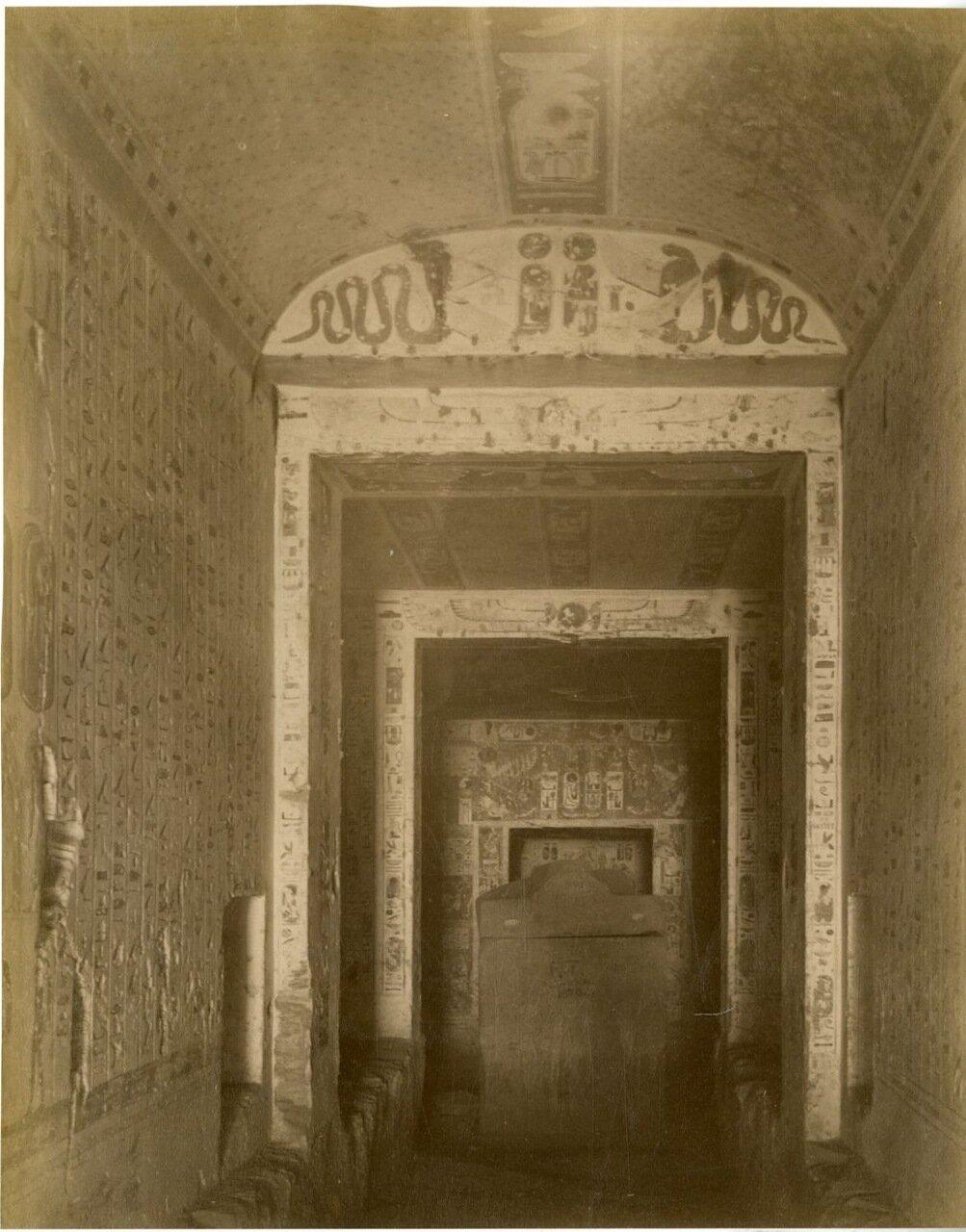 Карнак. Гробница Рамсеса IV