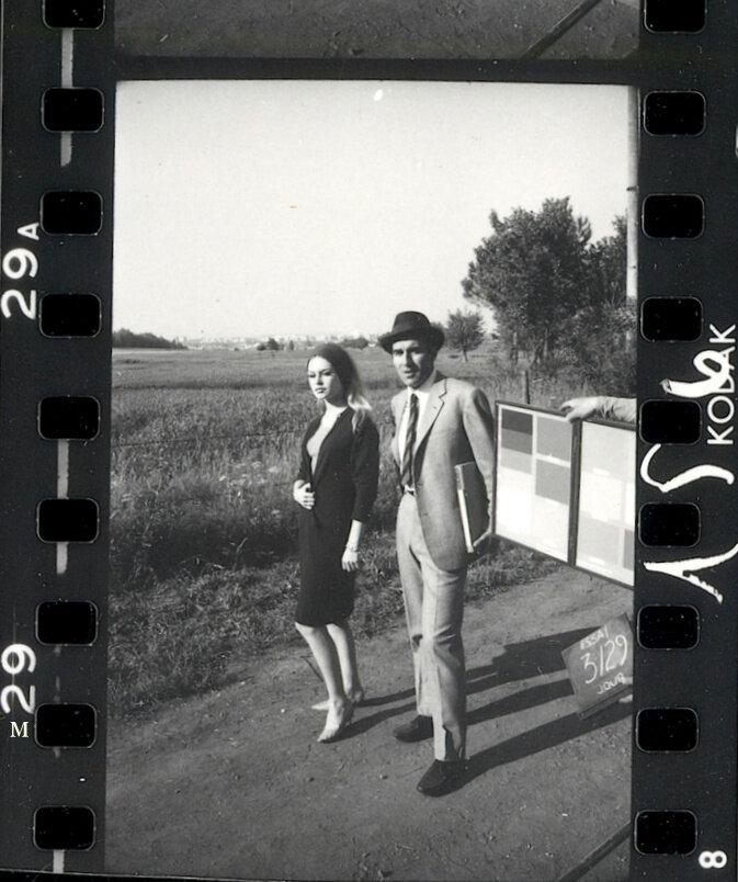 1963. Брижит Бардо и Мишель Пикколи