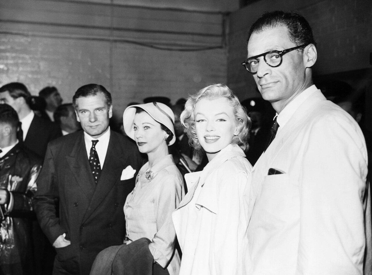 Miller & Monroe & Leigh & Olivier