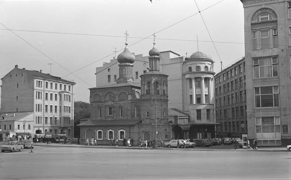 1983. Площадь Ногина