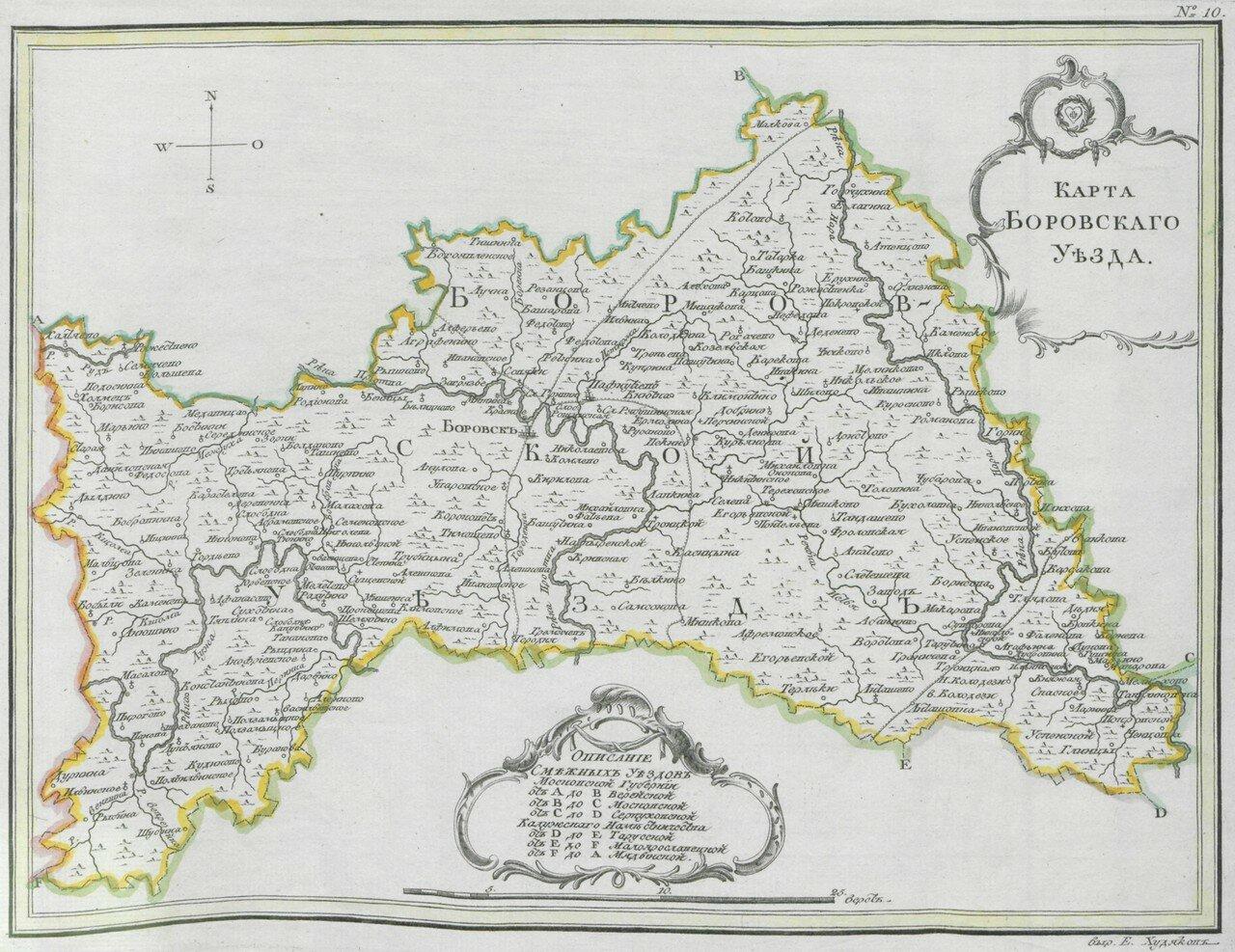 12. Боровский уезд