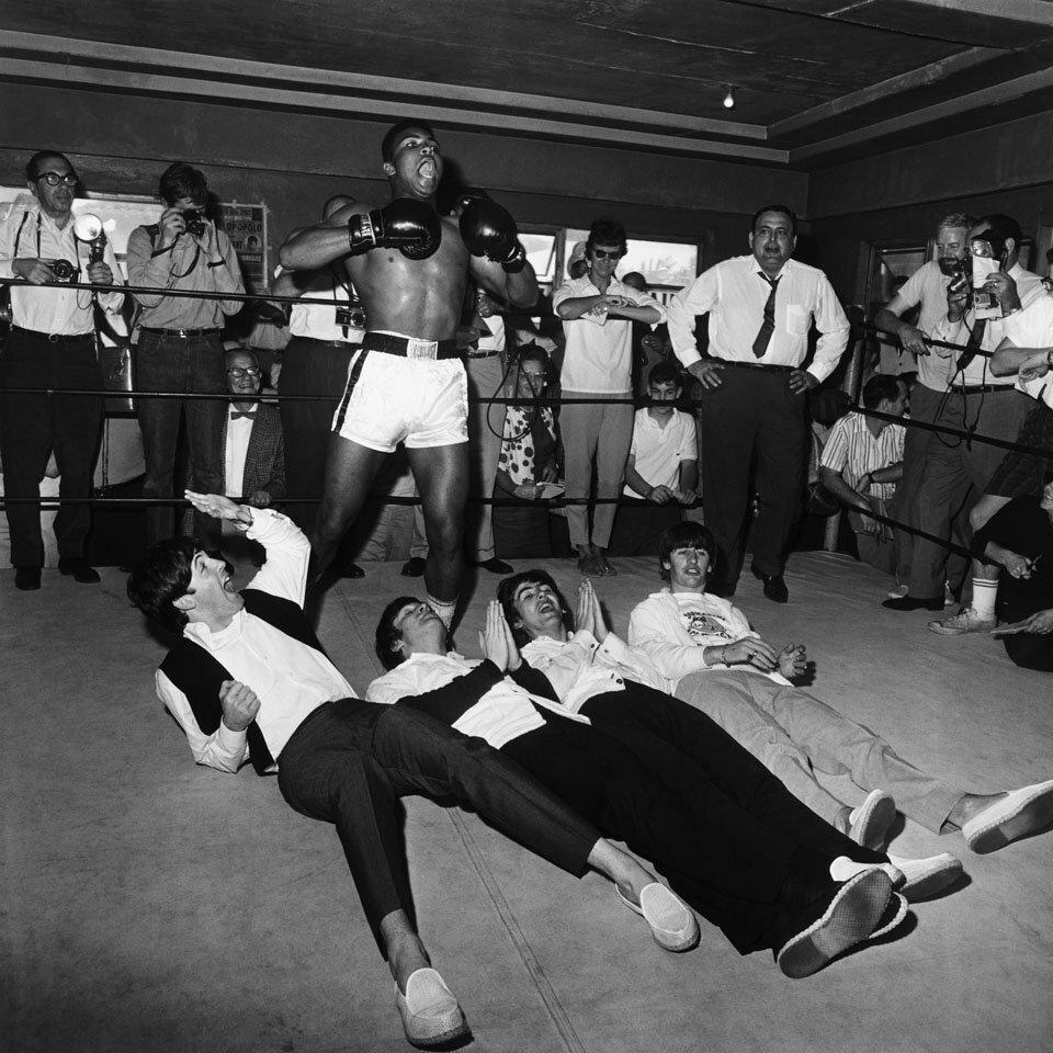 1964. Мохаммед Али и Битлз на ринге