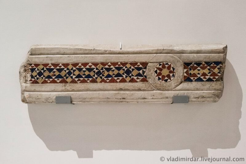 Алтарные преграды. Италия. X-XI век. Мраморовидный известняк.