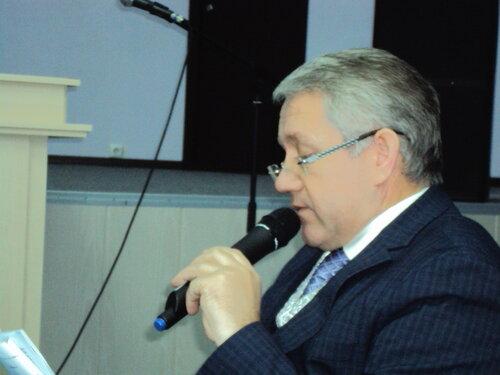 Директор ЧГИГН Юрий Исаев. 10.12.2014 г.