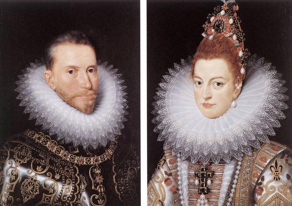 """Франс Порбус Младший. """"Герцог Альберт и герцогиня Изабелла"""""""
