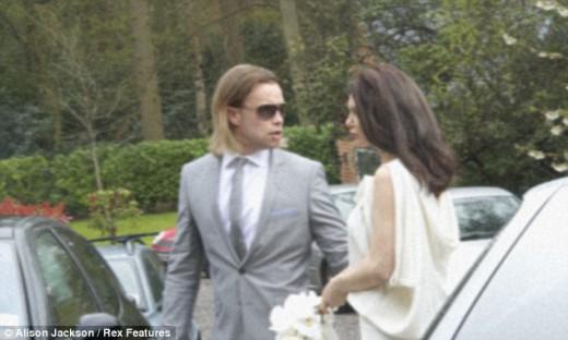 Фото: свадьба актеров Анджелина Джоли и Брэд Питт