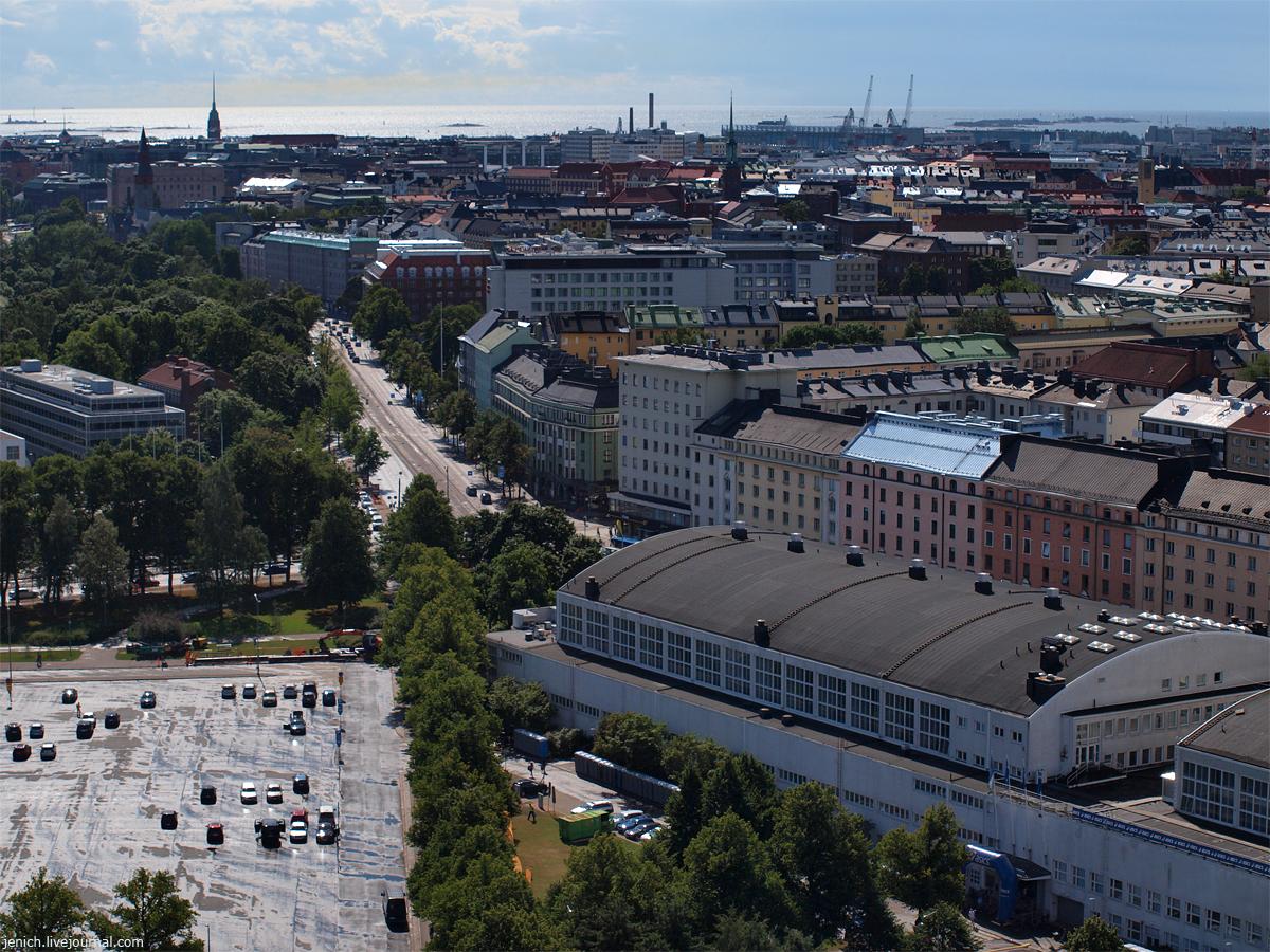 фото, фотография, Хельсинки, башня, олимпийский стадион, виды