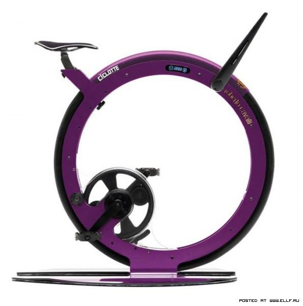 Дизайнерский велотренажер от Роберта Кавалли