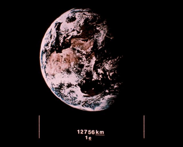 Серия изображений о Земле, которые НАСА отправила в космос для инопланетян