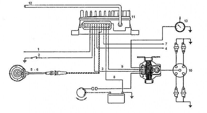 порядок подключения высоковольтных проводов фиат темпра 1.6