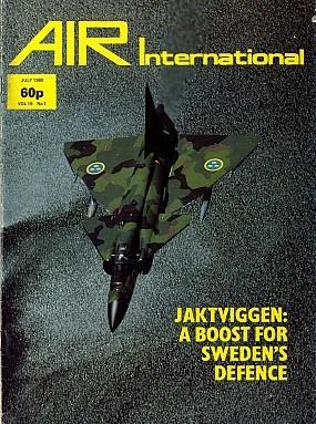 Журнал Air International - Vol 19 No 01