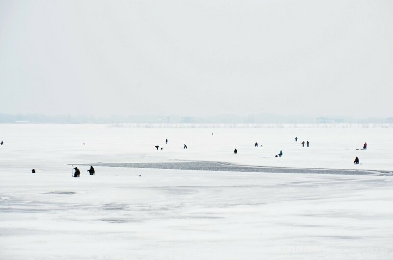 Саратов, Набережная Космонавтов, 18 января 2015 года