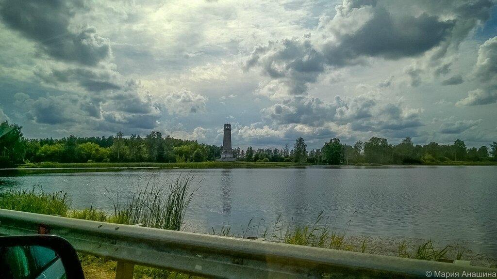 Озеро Лебяжье, Большой Волжский маяк, Дубна