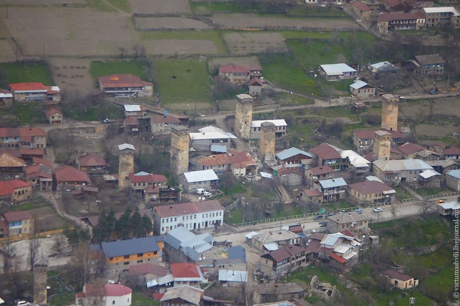 Грузия, перелет Тбилиси-Местиа