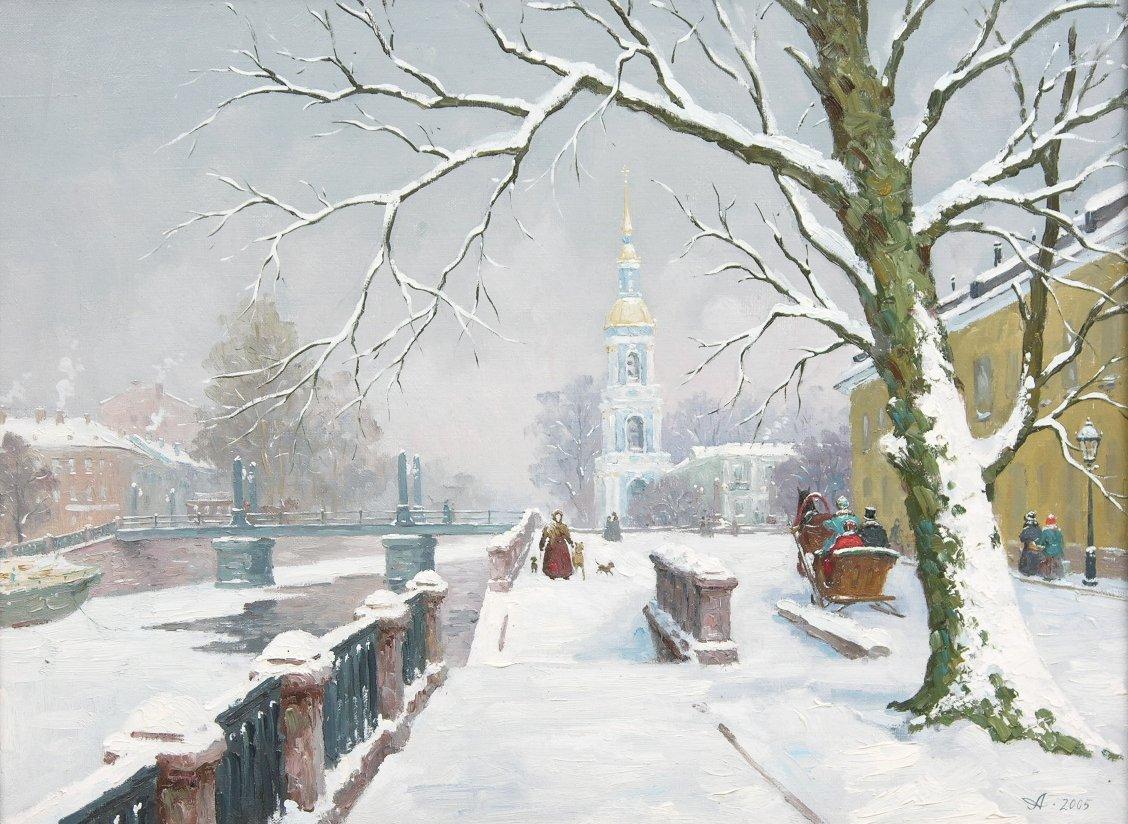 всегда зимний городской пейзаж тулы фото отметили, что