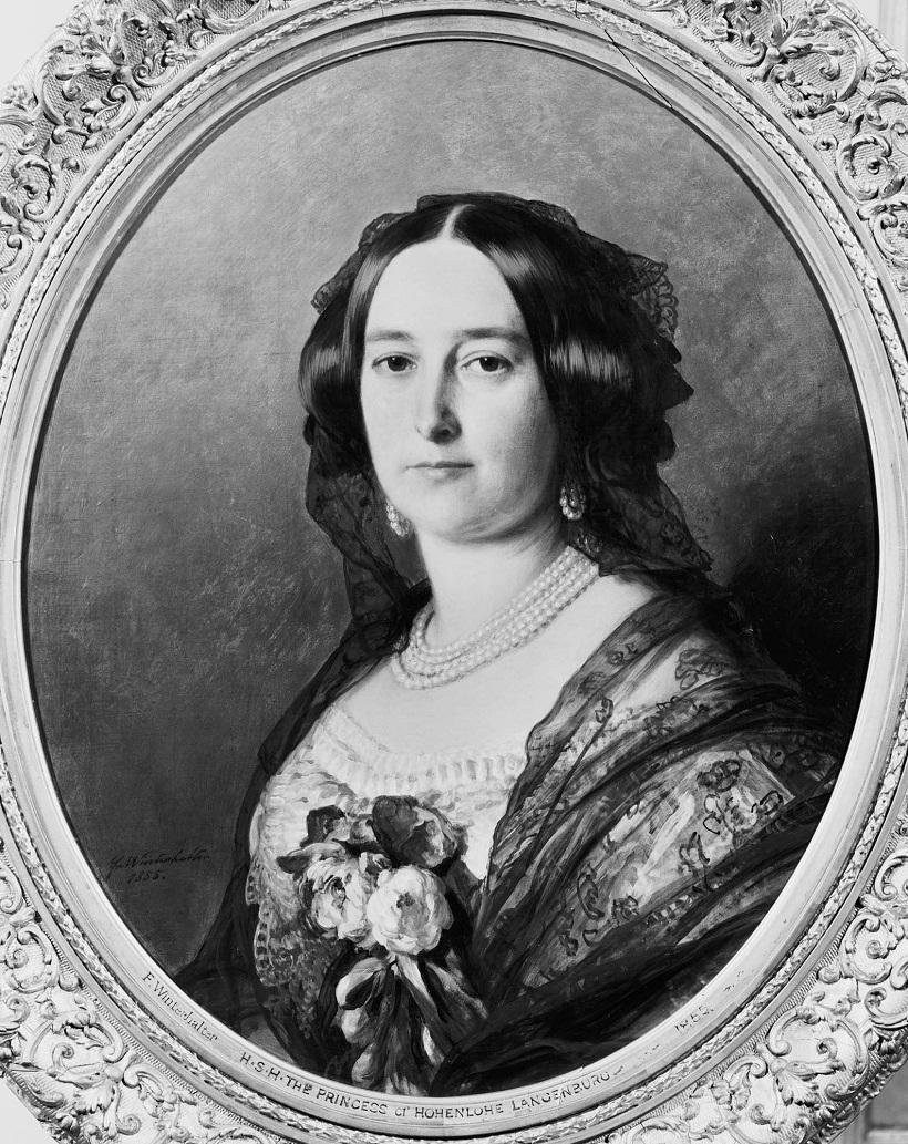 Феодора, княгиня Гогенлоэ-Langenburg (1807-72)