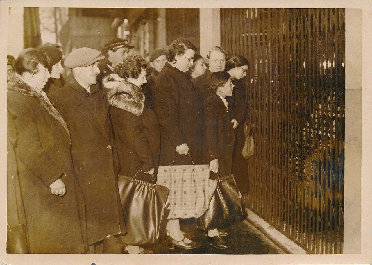 1936. Раздача еды забастовщикам