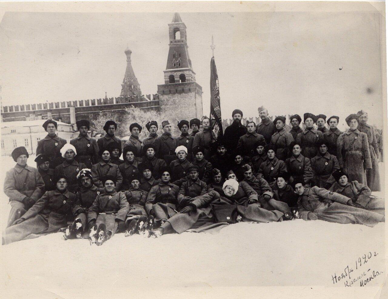 1920. Пулеметные курсы в Кремле