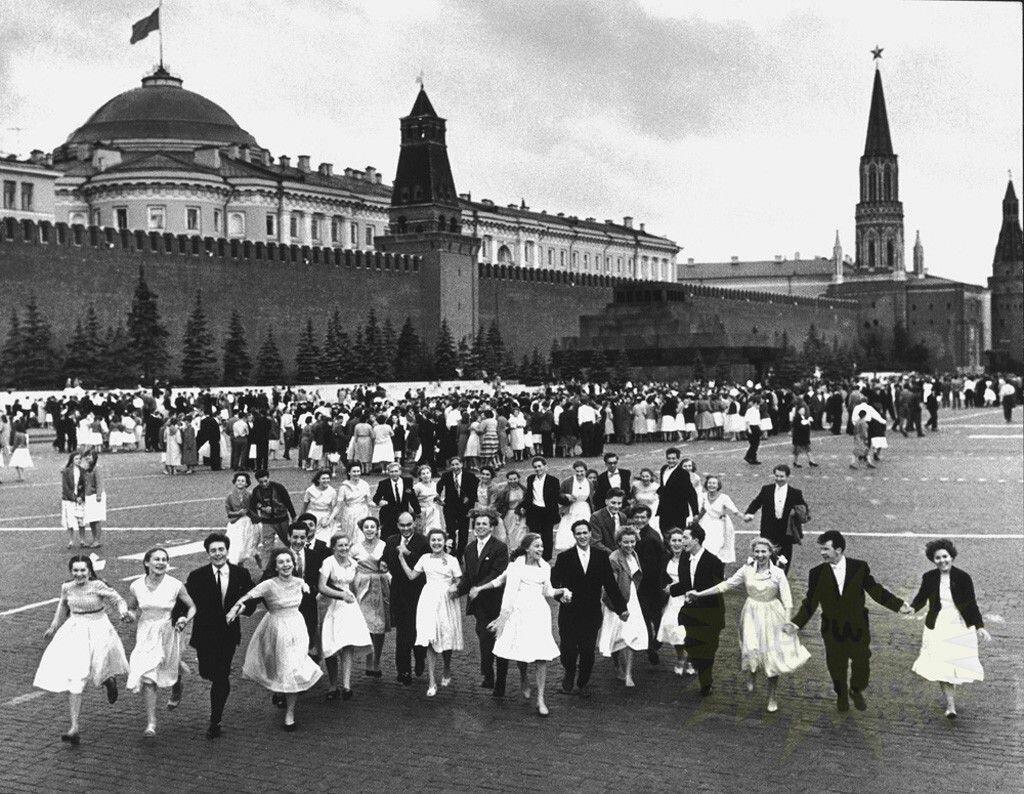 1960. Красная площадь (Выпускной)