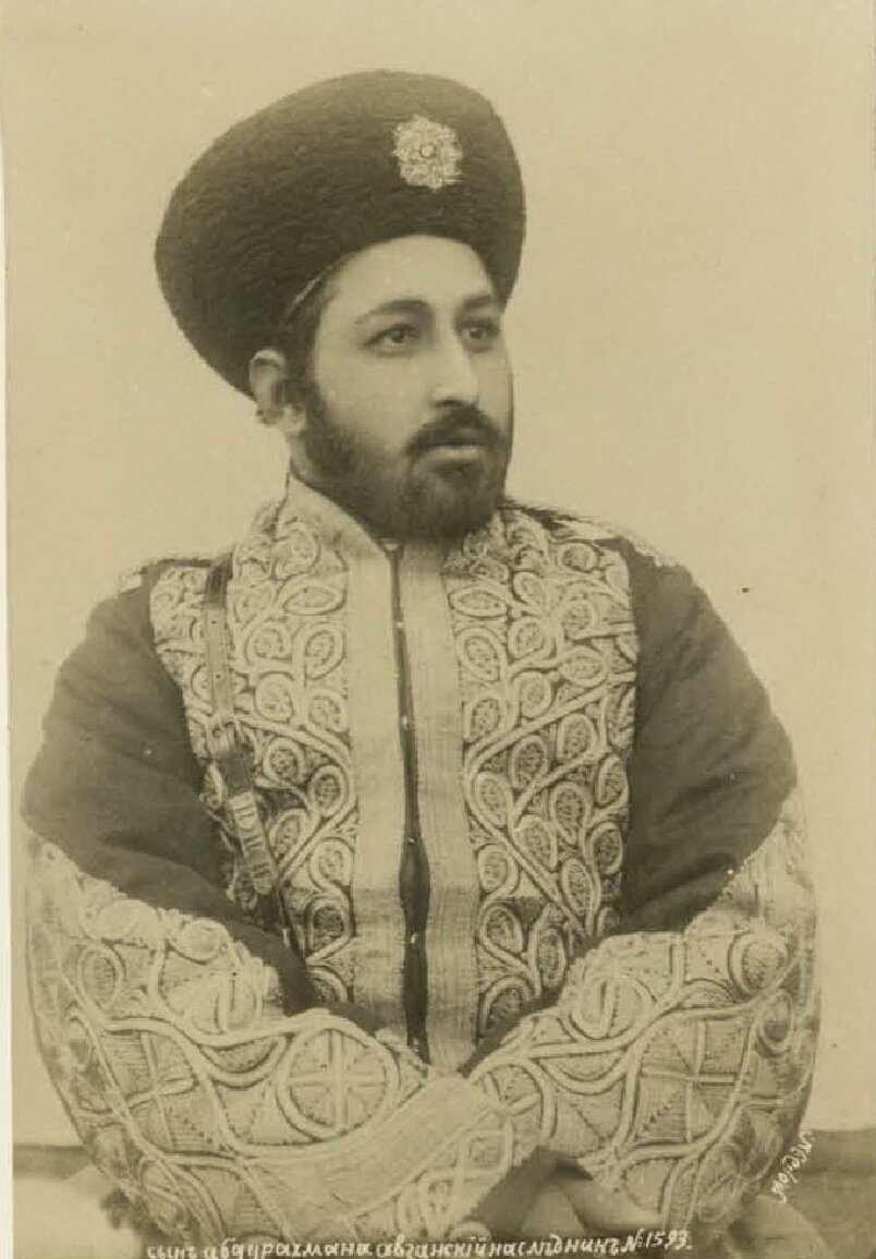 Самарканд. Сын Абдур-Рахмана, афганский наследник