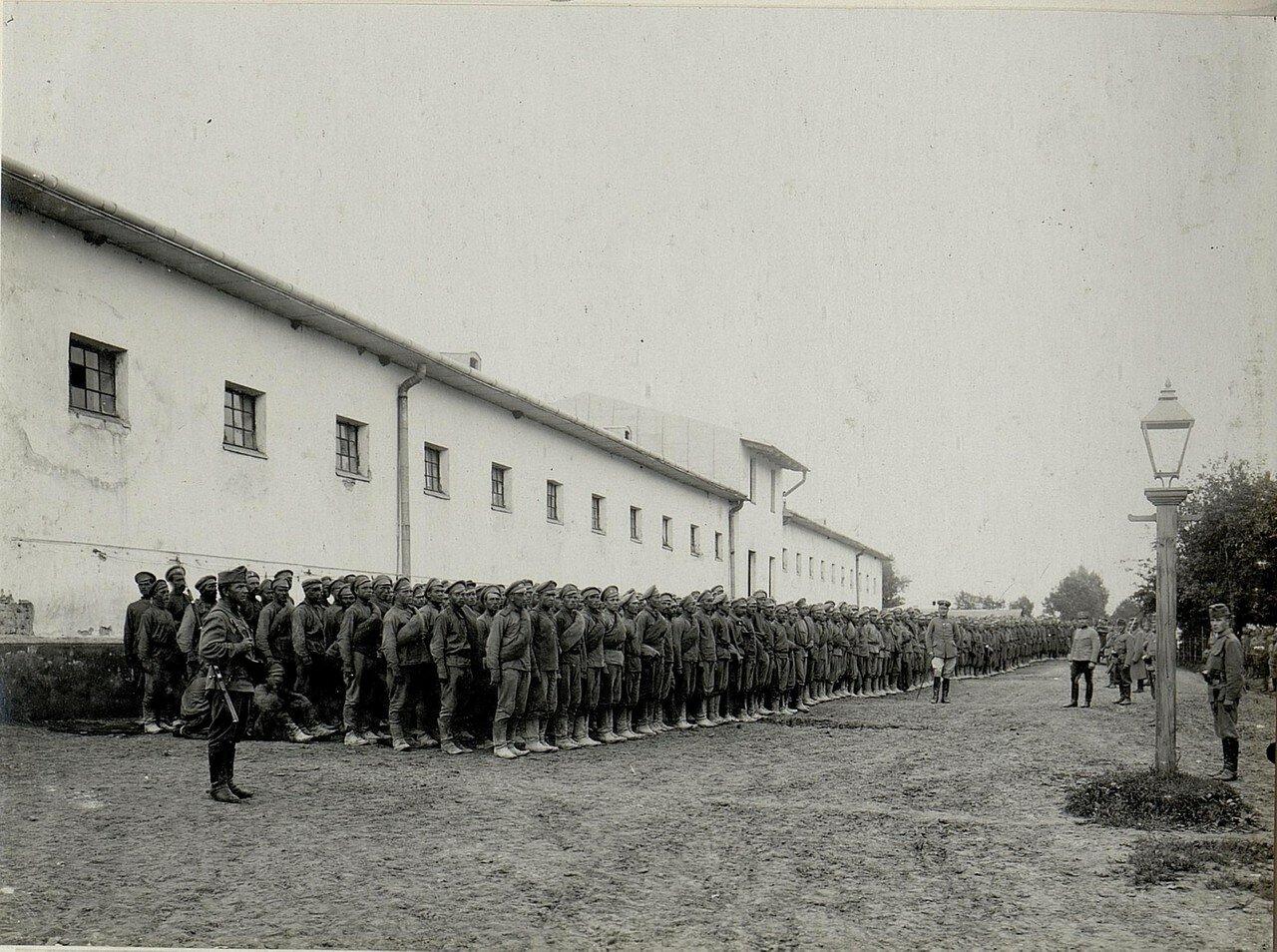 Русские военнопленные в Цеброве