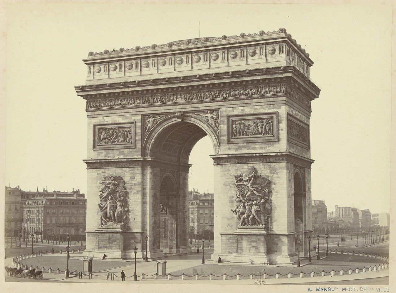 1860-е. Триумфальная арка