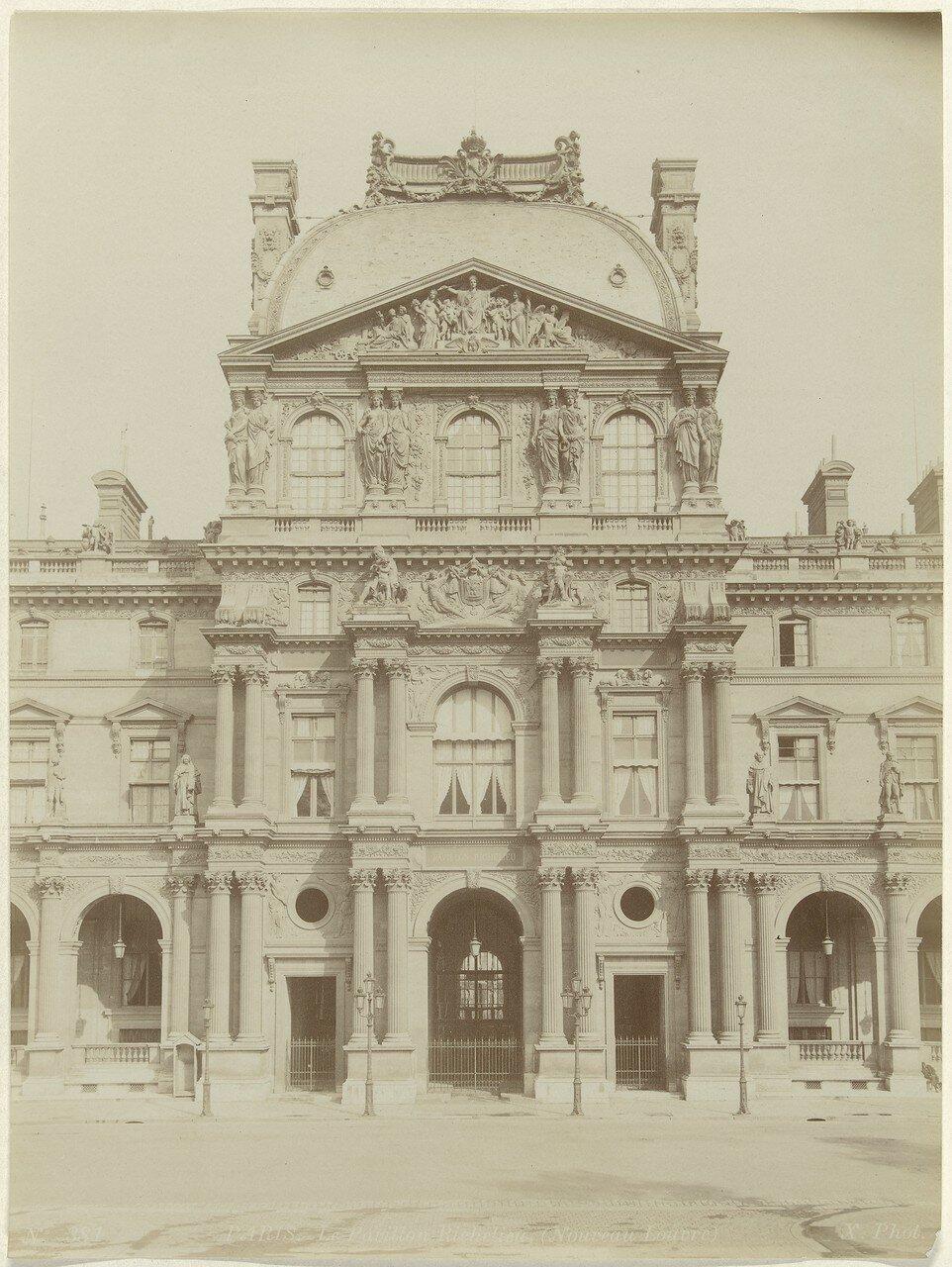 1870-е. Лувр. Павильон Ришелье
