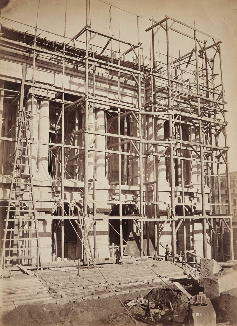 1860. Строительство здания Новой Оперы