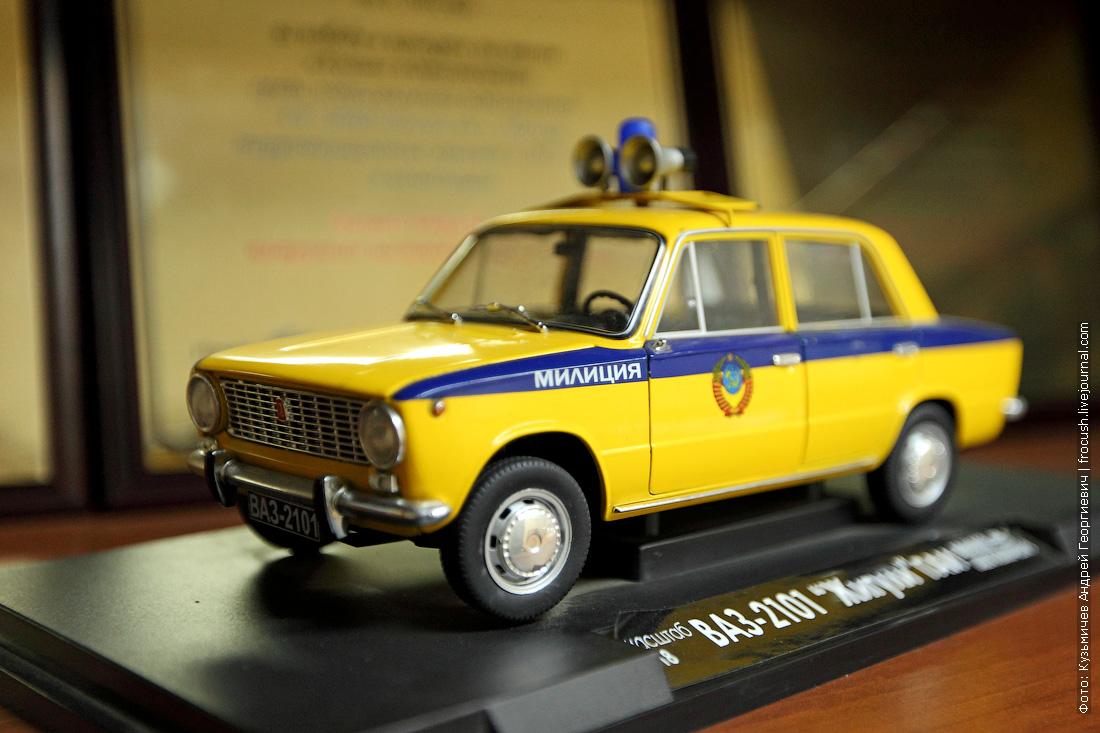 модель ВАЗ-2101 Жигули масштаб 1:18