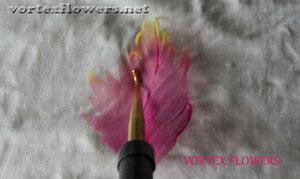 Мастер-класс. Хризантема из ткани «Ягодка» от Vortex  0_fbf91_3c0c6360_M