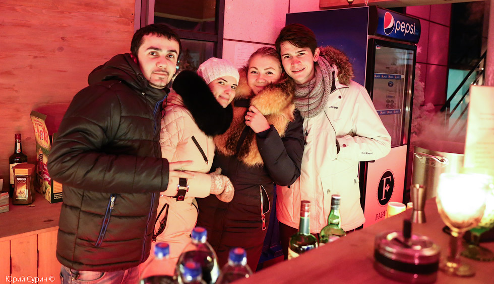 День российской печати, Тверь, PENATES, хороший ресторан, Первый мой зимний Open Air года 2015