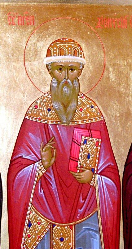 Святой Преподобный Дионисий Радонежский.