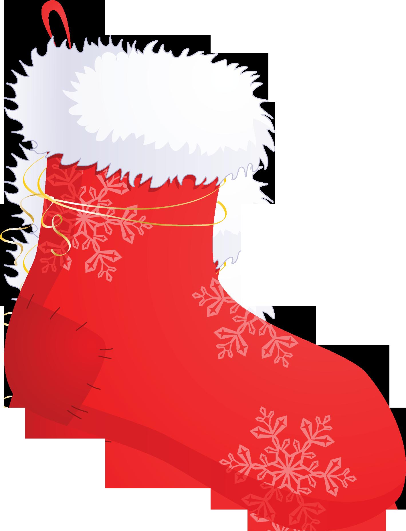 картинка новогодний носок температур