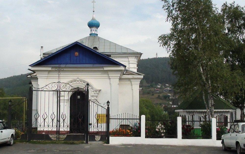 Вид на Кусинский храм (вход) (04.02.2015)
