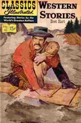 Книга Classics illustrated - Western Stories