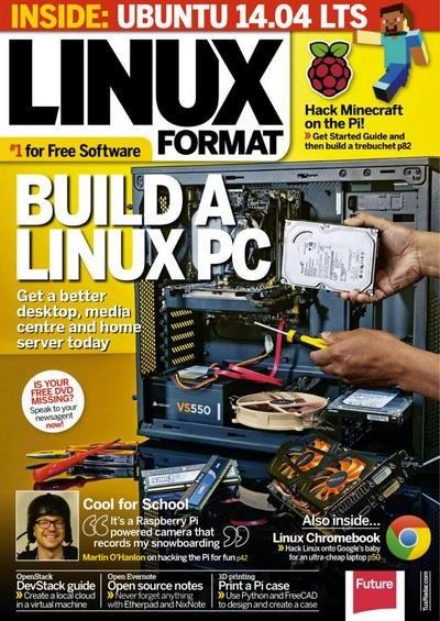 Подшивка журналов:  Linux Format [UK] №№184, 185 (июнь, июль 2014)  [En]