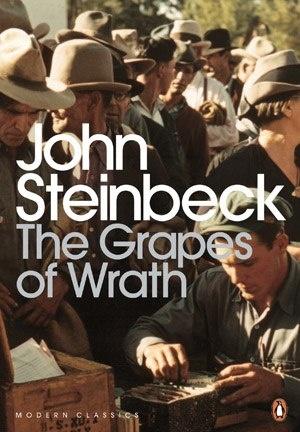 Книга Грозди гнева, Джон Стейнбек (1939)