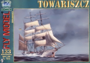 Журнал Журнал Парусный корабль «Товарищ»(Fly Model №133)