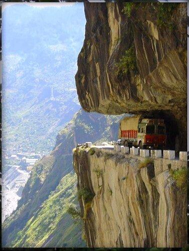 Дорога в Гималаях