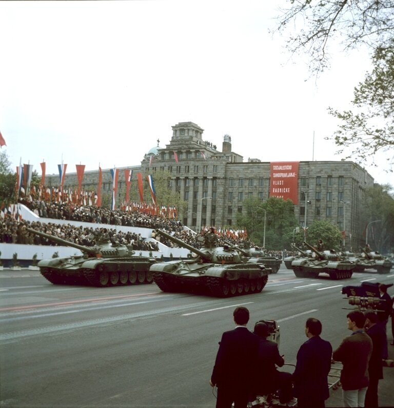 Парад в Югославии