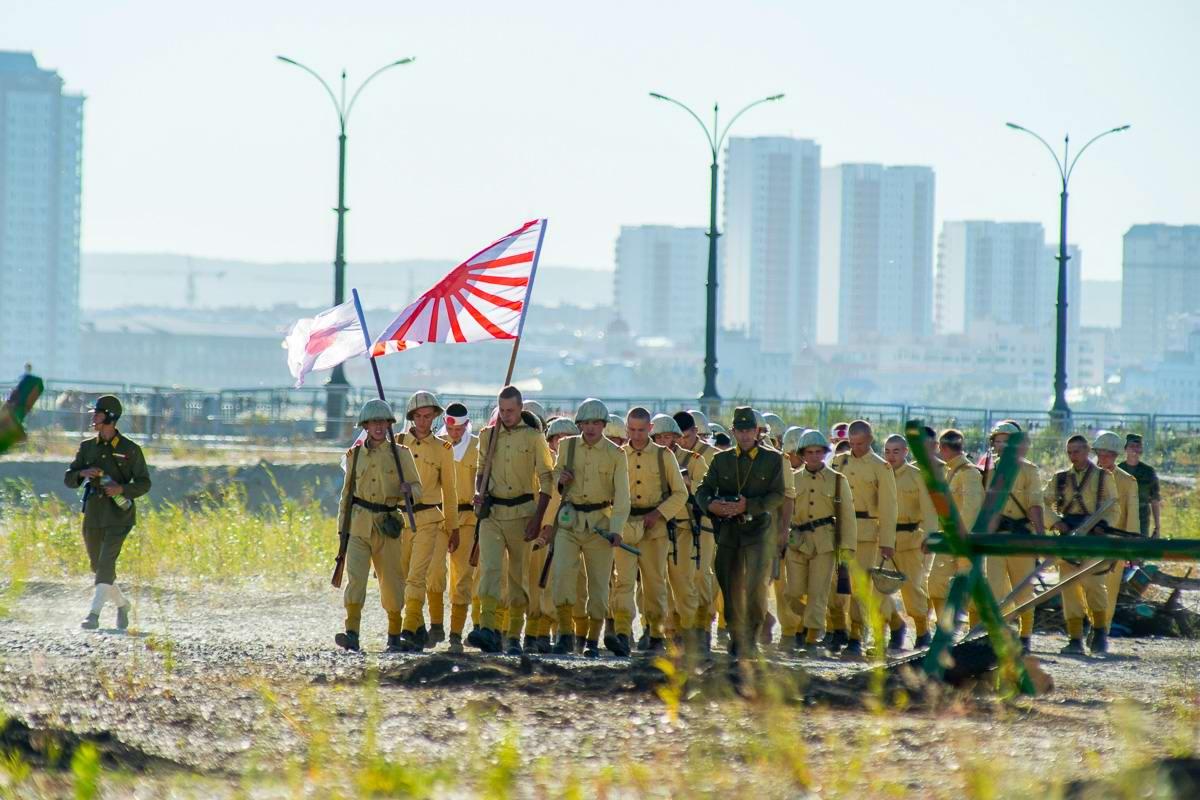Разгром японцев на берегах Амура: Реконструкция событий времен 2-й мировой войны (2)