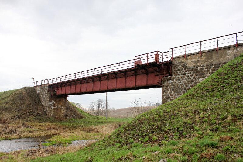Мост перегона Бартенево - Зубцов через реку Шешма