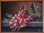 Виноград на столешнице