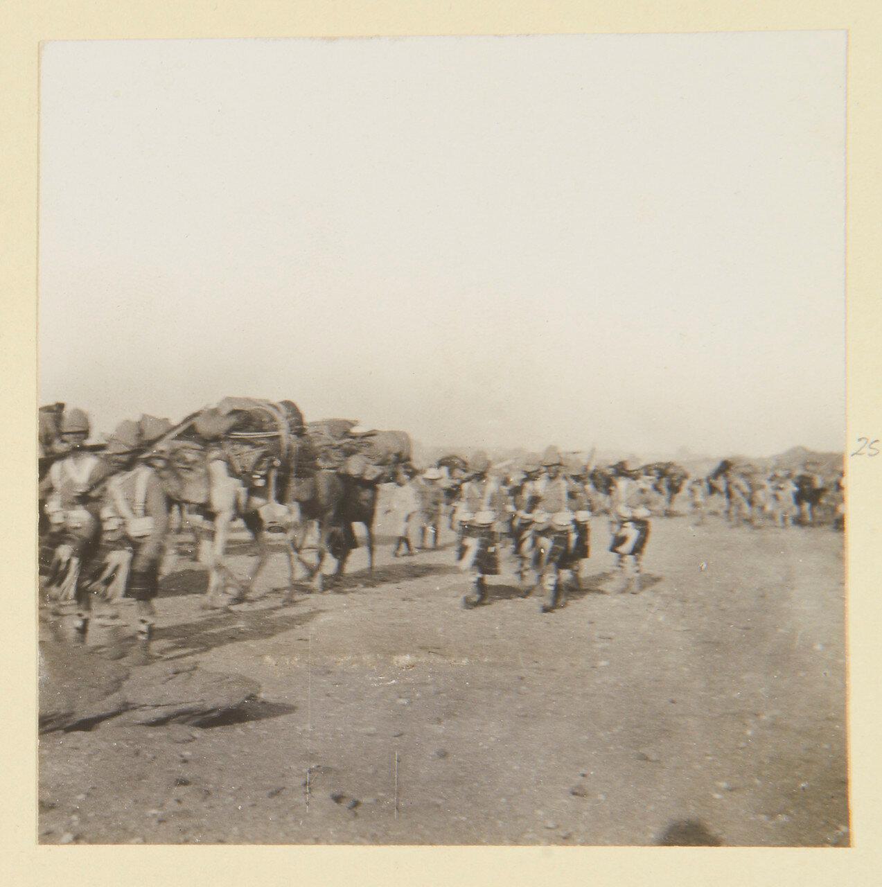 Август 1898. Обоз