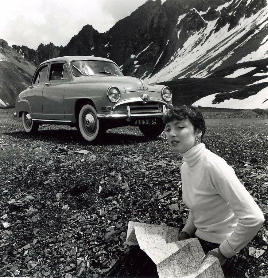 1953. Реклама «Симки Аронде»