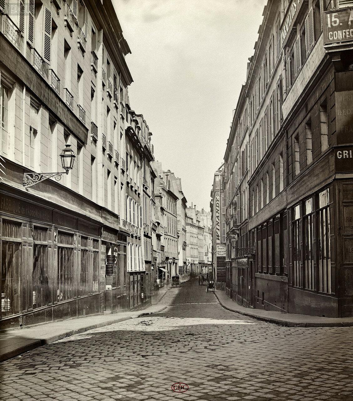 Рю Сантье. 1866
