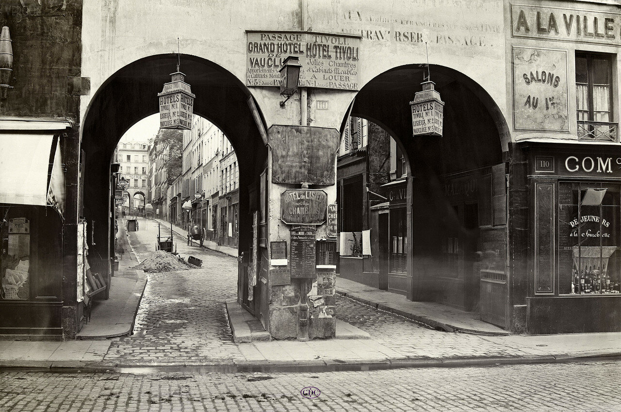 Проход Тиволи. 1866